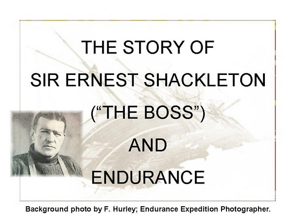 Endurance & Shackleton