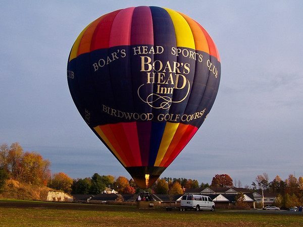Hot Air Ballooning  Charlottesville (Nov 2007)
