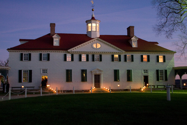 Mount Vernon<br> Candlelight Tour<br> (Nov 2007)