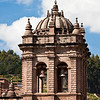 "Cusco Cathedral (Cathedral of Santo Domingo)<br>One of these two bells is known as ""María Angola.""   Cast in 1659, the bell is said to have been named for a black woman who tossed 25 pounds of gold into the crucible, thus ensuring success after the first two castings had failed."