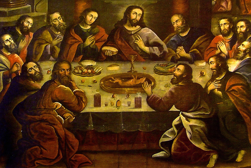 Marcos Zapata's rendition of The Last Supper.<br /> Photograph from SmugMug, Inc